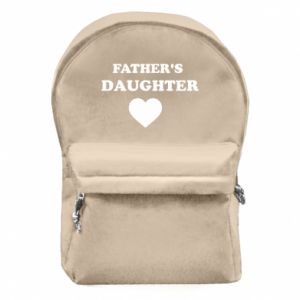 Backpack with front pocket Father's daughter