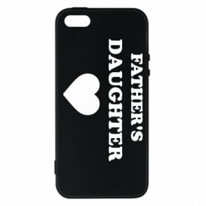 Phone case for iPhone 5/5S/SE Father's daughter