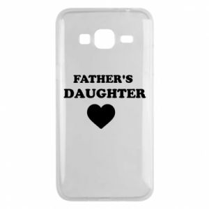 Phone case for Samsung J3 2016 Father's daughter