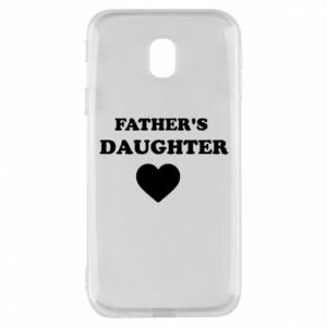 Phone case for Samsung J3 2017 Father's daughter