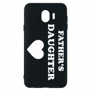 Phone case for Samsung J4 Father's daughter