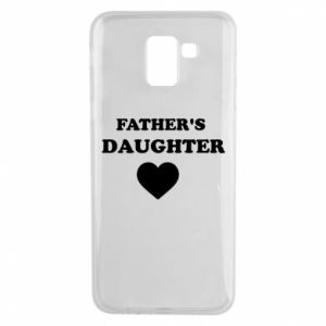Phone case for Samsung J6 Father's daughter