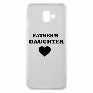 Phone case for Samsung J6 Plus 2018 Father's daughter