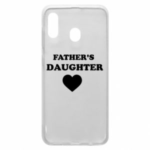 Phone case for Samsung A20 Father's daughter