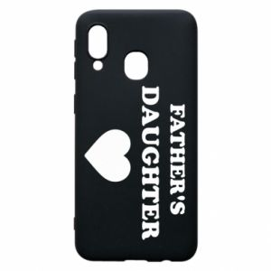 Phone case for Samsung A40 Father's daughter