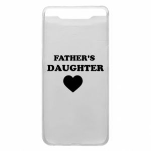 Phone case for Samsung A80 Father's daughter