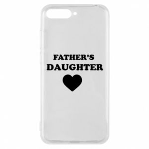 Phone case for Huawei Y6 2018 Father's daughter