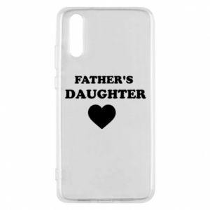 Phone case for Huawei P20 Father's daughter
