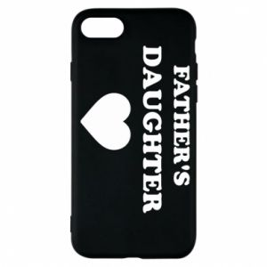 Phone case for iPhone 7 Father's daughter