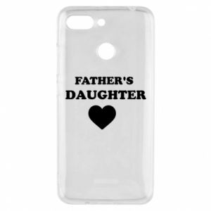 Phone case for Xiaomi Redmi 6 Father's daughter