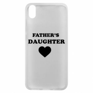 Phone case for Xiaomi Redmi 7A Father's daughter