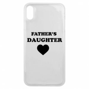 Phone case for iPhone Xs Max Father's daughter