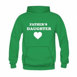 Kid's hoodie Father's daughter