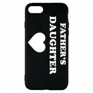 Phone case for iPhone 8 Father's daughter