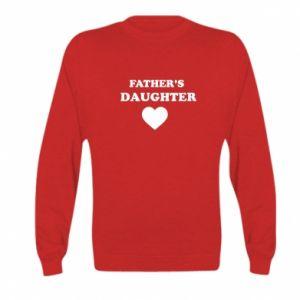 Kid's sweatshirt Father's daughter