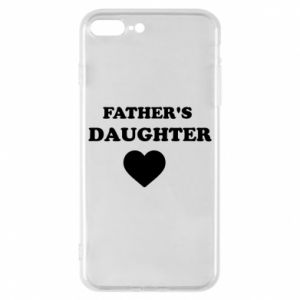 Phone case for iPhone 8 Plus Father's daughter