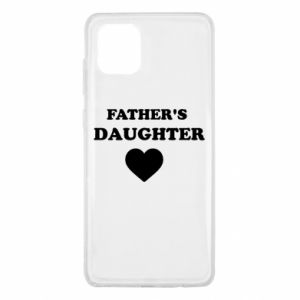 Samsung Note 10 Lite Case Father's daughter