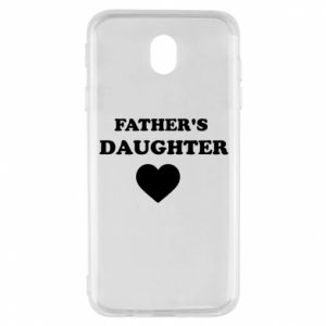 Samsung J7 2017 Case Father's daughter