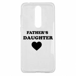 Nokia 5.1 Plus Case Father's daughter