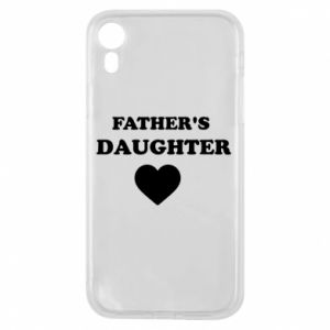 Phone case for iPhone XR Father's daughter