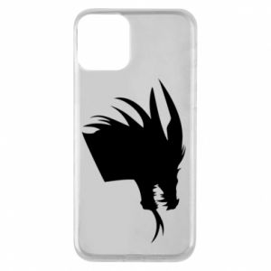 Etui na iPhone 11 Ferocious dragon in profile
