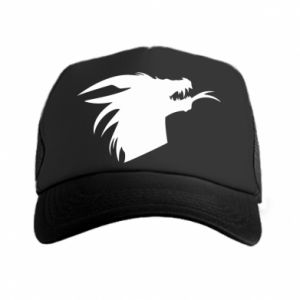 Czapka trucker Ferocious dragon in profile