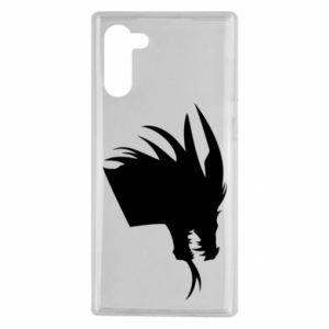 Etui na Samsung Note 10 Ferocious dragon in profile