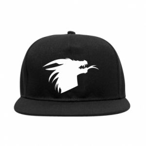 Snapback Ferocious dragon in profile