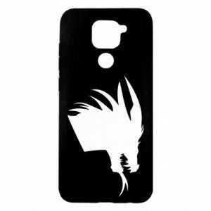 Etui na Xiaomi Redmi Note 9/Redmi 10X Ferocious dragon in profile