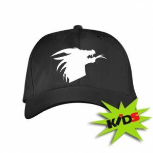 Dziecięca czapeczka z daszkiem Ferocious dragon in profile