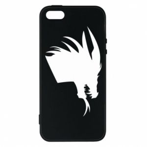 Etui na iPhone 5/5S/SE Ferocious dragon in profile