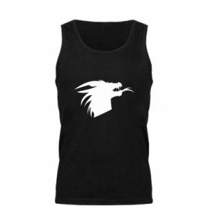 Męska koszulka Ferocious dragon in profile