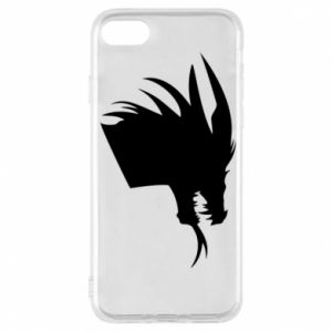Etui na iPhone 7 Ferocious dragon in profile