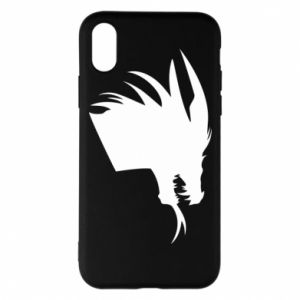 Etui na iPhone X/Xs Ferocious dragon in profile