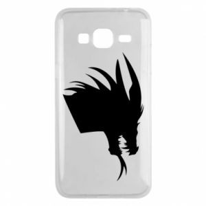 Etui na Samsung J3 2016 Ferocious dragon in profile