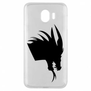 Etui na Samsung J4 Ferocious dragon in profile