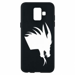 Etui na Samsung A6 2018 Ferocious dragon in profile