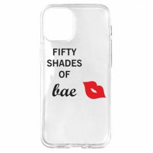 Etui na iPhone 12 Mini Fifty shades of bae
