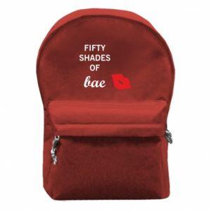 Plecak z przednią kieszenią Fifty shades of bae