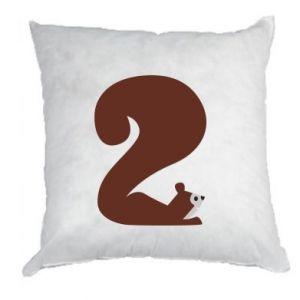 Poduszka Figura zwierzęcia przez 2 lata