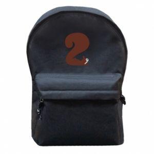 Plecak z przednią kieszenią Figura zwierzęcia przez 2 lata
