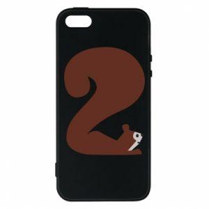 Etui na iPhone 5/5S/SE Figura zwierzęcia przez 2 lata