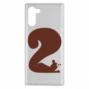 Etui na Samsung Note 10 Figura zwierzęcia przez 2 lata