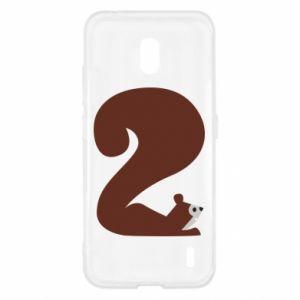Etui na Nokia 2.2 Figura zwierzęcia przez 2 lata