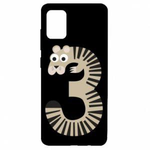 Etui na Samsung A51 Figurka zwierzęca od 3 lat