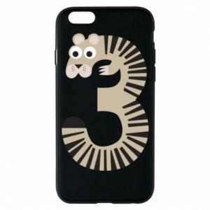 Etui na iPhone 6/6S Figurka zwierzęca od 3 lat