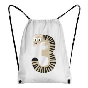 Plecak-worek Figurka zwierzęca od 3 lat
