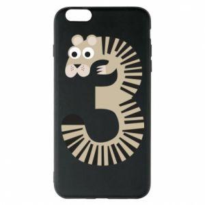 Etui na iPhone 6 Plus/6S Plus Figurka zwierzęca od 3 lat