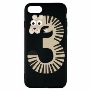 Etui na iPhone 7 Figurka zwierzęca od 3 lat