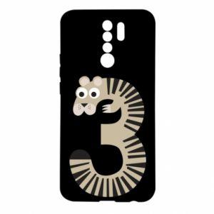 Etui na Xiaomi Redmi 9 Figurka zwierzęca od 3 lat